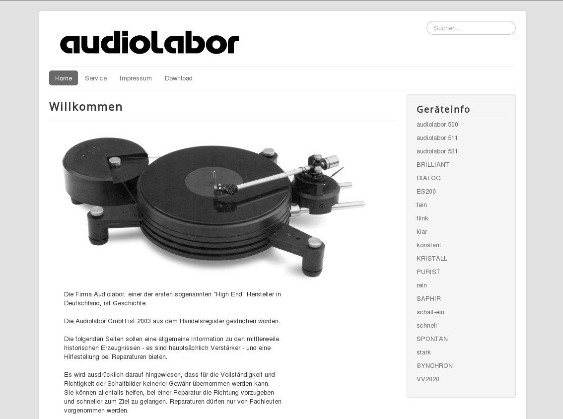 Audiolabor_home_de image description